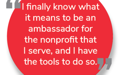 Invest in those who volunteer with your organization